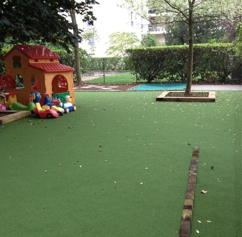 Création d'un jardin petite enfance