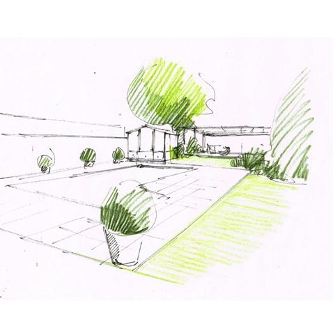 Création d'un jardin pour particuliers – Saint Didier au Mont d'Or (69)