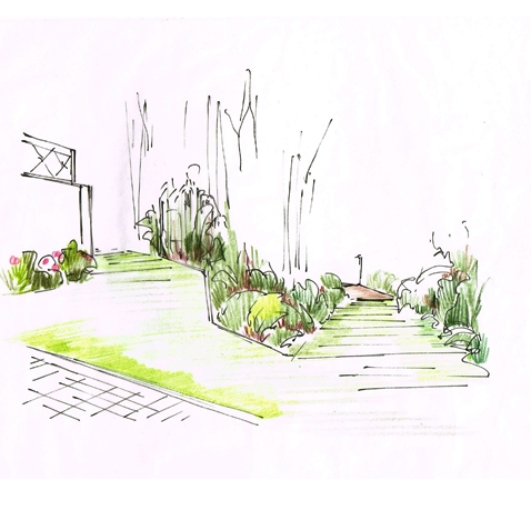 Création d'un jardin paysager – Limonest (69)