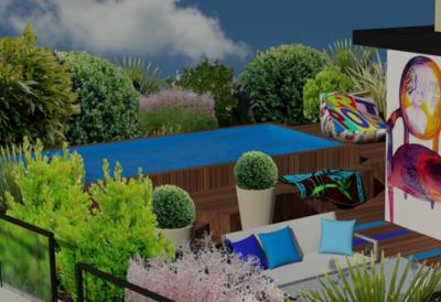 atelier paysagiste lyon terrasse2 atelier papyrus. Black Bedroom Furniture Sets. Home Design Ideas