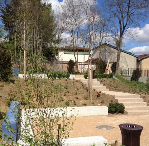 Aménagement des Jardins de la Chaux