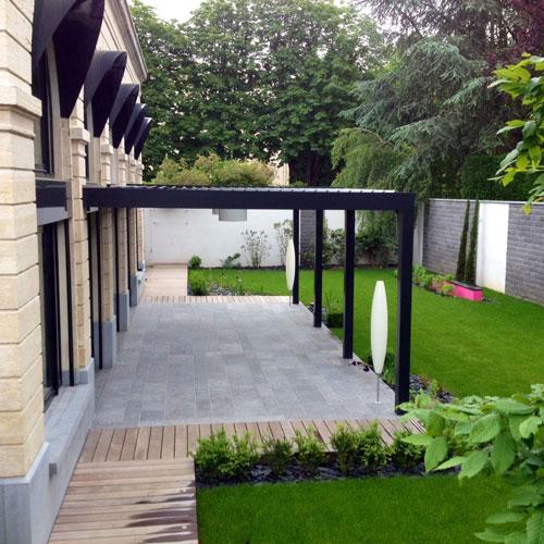 Jardin de ville autour d 39 une orangerie atelier papyrus for Architectes paysagistes