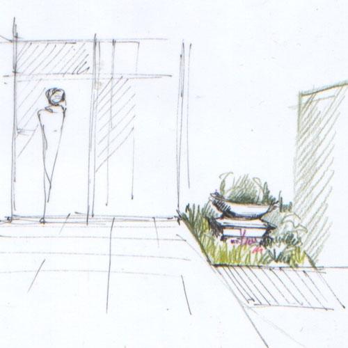 dessin paysagiste best architecte paysagiste changer le dessin la runion avec le client image. Black Bedroom Furniture Sets. Home Design Ideas