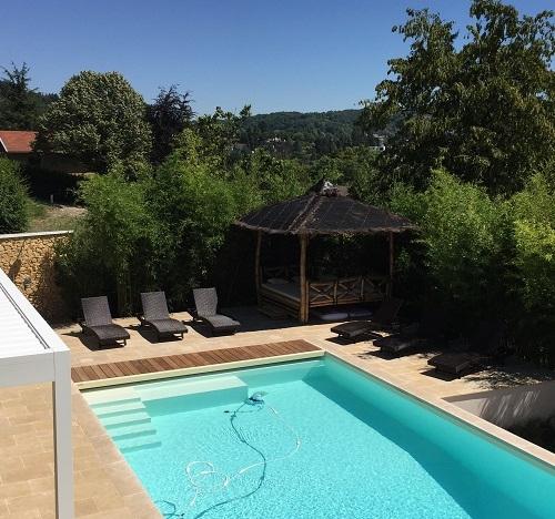 terrasse autour d 39 une piscine atelier papyrus. Black Bedroom Furniture Sets. Home Design Ideas
