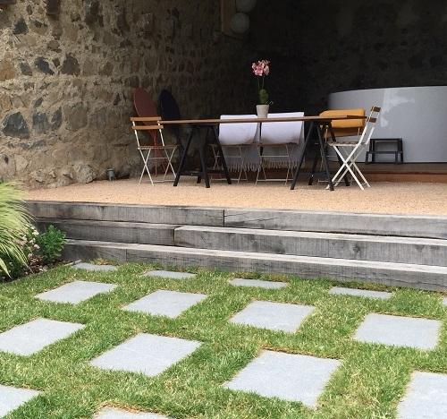 Terrasse avec SPA pour particulier – Amplepuis (69)