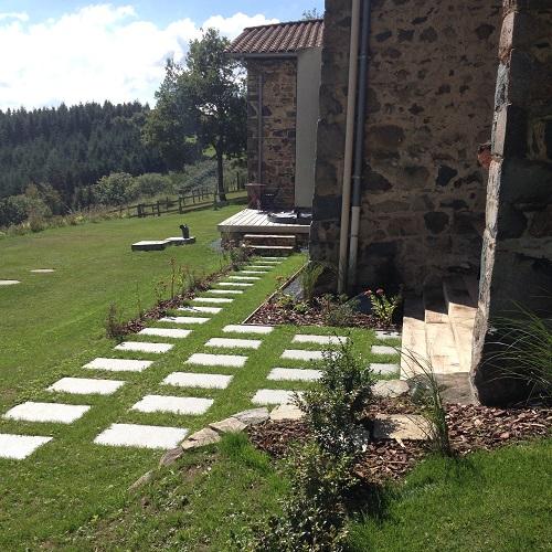 terrasse avec spa pour particulier amplepuis 69 atelier papyrus. Black Bedroom Furniture Sets. Home Design Ideas