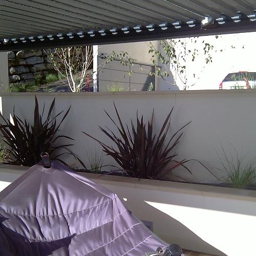 Terrasse autour d 39 une piscine st cyr au mont d 39 or 69 for Paysagiste valence