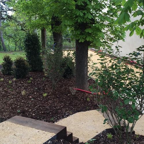 Cr ation d 39 un jardin pour particulier caluire 69 - Paysagiste lyon ...